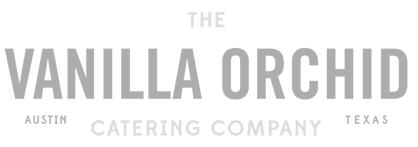 the vanilla orchid logo